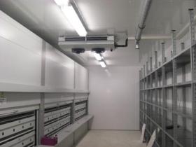 小型食品冷库和大型冷库的地面如何处理